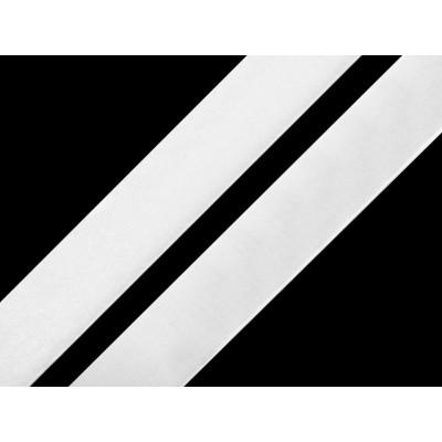 Suchý zips samolepiaci šírka 20mm biely komplet