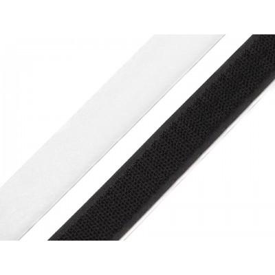 Suchý zips samolepiaci strihaný 20mm x 20cm