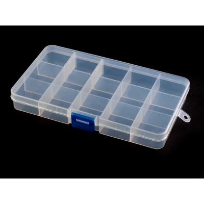 Zásobník plastový  22x100x170mm na perličky