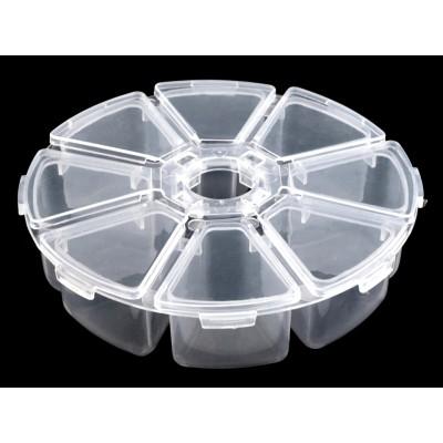 Zásobník plastový  Ø100mm na perličky
