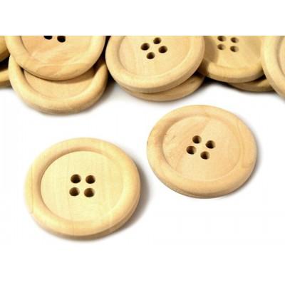 """Gombík drevený  LEON veľkosť 48"""""""