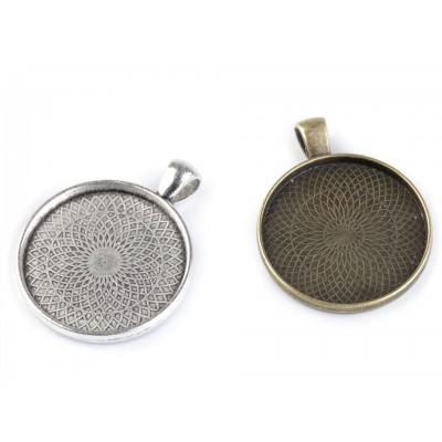 Kovové lôžko okrúhle Ø30 mm
