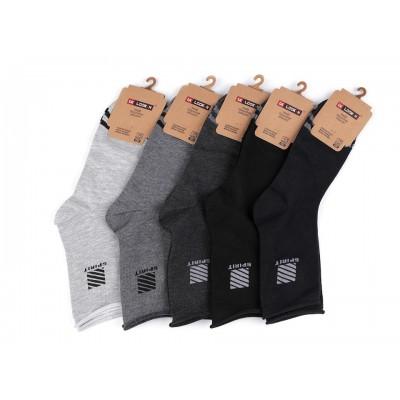 Pánske bavlnené ponožky so zdravotným lemom