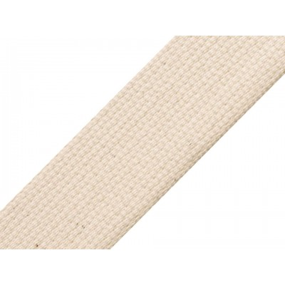 Popruh bavlnený šírka 40mm ČESKÝ VÝROBOK