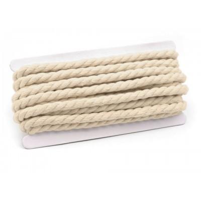 Šnúra točená Ø10 mm bavlnená