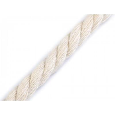 Bavlnená šnúra točená Ø8 mm