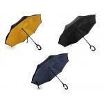 Obrátený dáždnik dvojvrstvový dvojfarebný