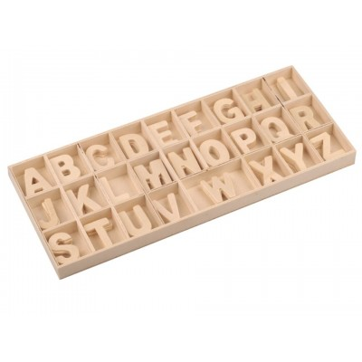 Drevené písmená v krabici 33mm