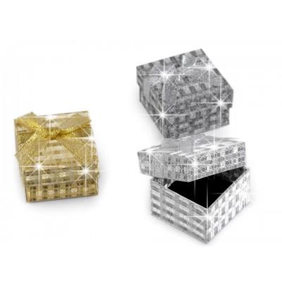 Krabička exkluzívna 5x5 cm s mašľou