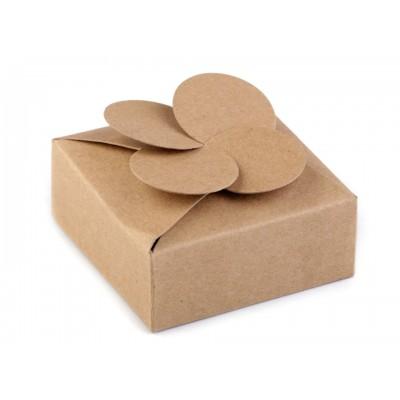Papierová krabička natural