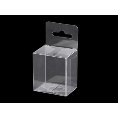 Plastová krabička 4x4,5 cm so závesom