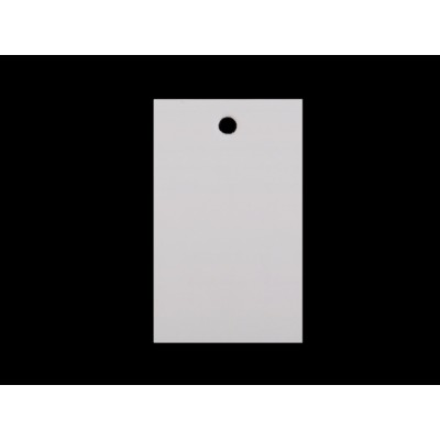 Papierová visačka / menovka 30x50 mm