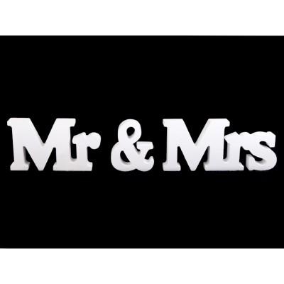 3D dekorácia Mr a Mrs