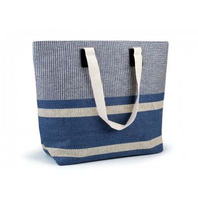 Plážová taška s pruhmi
