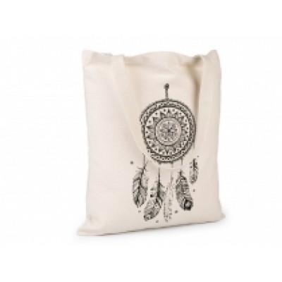 Textilná taška bavlnená 34x39 cm lapač snov
