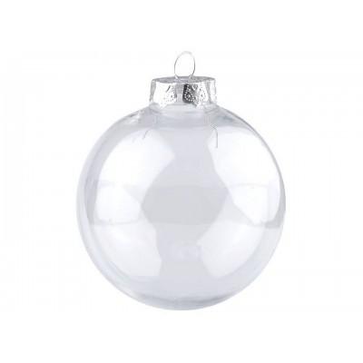 Vianočná guľa na ozdobenie Ø10 cm