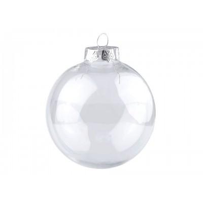 Vianočná guľa na ozdobenie Ø8 cm