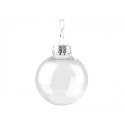 Vianočná guľa na ozdobenie Ø6 cm