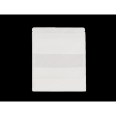 Sáčik s priehľadom biely, stredný