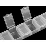 Plastový box / zásobník 1,8x3,4x15 cm