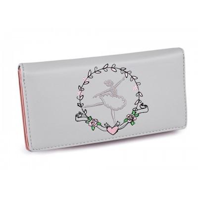 Dámska peňaženka baletka 10x19,5 cm