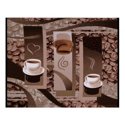 Bavlnené vaflové piké šálky kávy
